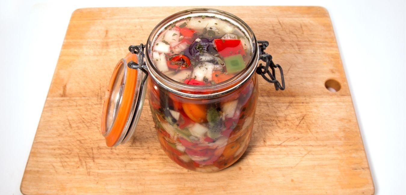 fermentált zöldség