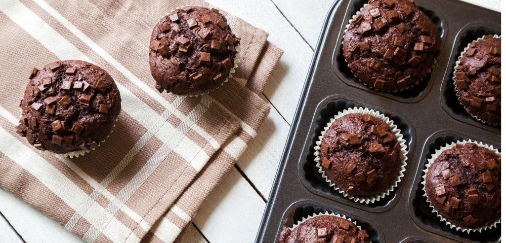 paleo csokis muffin